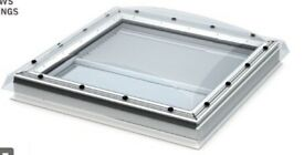 Velux Skylight New for fixing in Flat Roof - size 1200mmx1200mm