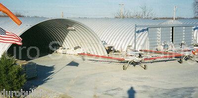 Durospan Steel 50x26x17 Metal Building Storage Hangar Open Ends Factory Direct