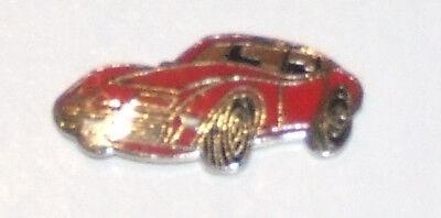 Chevrolet Corvette  Enamelled Hat Tac Lapel Pin