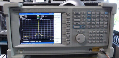 Tektronix Rsa3408a -02  Real Time Spectrum Analyzer Dc To 8ghz