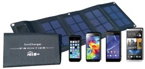 Portable Solar Charger for Smartphone, iphone, Tablets & More