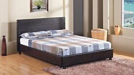 💖💖WIDE RANGE OF MATTRESS💖💖 New Double/King Leather Bed with Full Foam Or Pocket Sprung Mattress