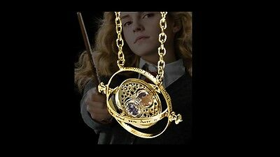 Hermione Granger's Time Turner Necklace, Harry Potter, Noble, Wizarding World