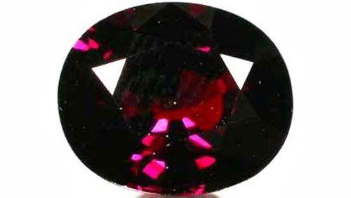 Bavaria Red Spessart 5ct+ Antique 19thC - Ancient Safe Travel Anti-Poison Amulet