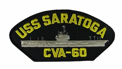 USS SARATOGA CVA-60 PATCH USN NAVY SHIP FORRESTAL CLASS SUPER CARRIER AIRCRAFT