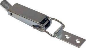 Door Cabinet Silver Tone Lock Spring Clip Table Drop Leaf