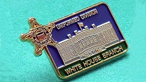 SECRET SERVICE WHITE HOUSE BRANCH UNIFORM DIV PIN