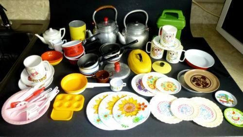 Toy Food And Dishes : Childrens toy dishes ebay