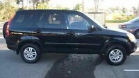 2002 Honda CRV 4WD for PARTS!! Black in color!