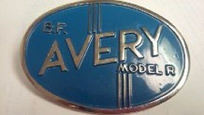 B F Avery Model R Grill Medallion