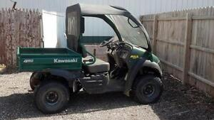 How do you shop for a used Kawasaki Mule?