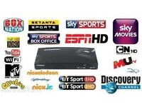 Sky open box live tv HD plug and play over 900 channels not firestick android box openbox