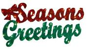 Seasons Greetings Sign