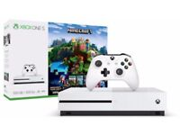 Xbox one S 500GB Minecraft edition New and Sealed