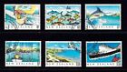 Fish Used Pacific Stamps