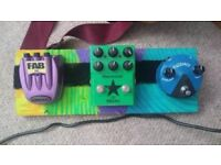 Mixed Guitar Pedals (£10, £30, £50 respectively)