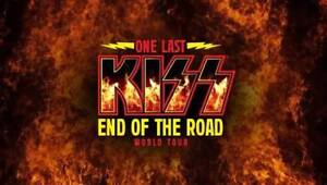 2 Floor Seat tickets - KISS End of the Road Tour