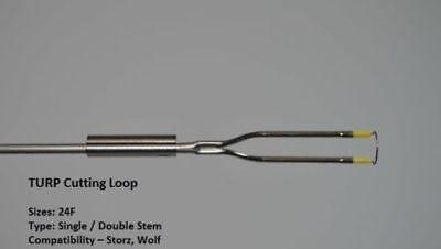 10x Storz Type Cutting Loop Single Stem Monopolar 24fr