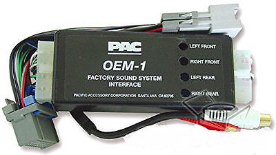 SPL PAC AOEM-NIS2 SYSTEM INTERFACE KIT ADD REPLACE AMPLIFIER 1995-2002 NISSAN