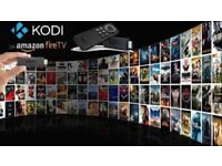 Kodi Fire Stick - Krypton 17.6 ✔Sports✔Movies✔TV✔Kids✔ & more