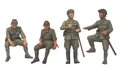 Fine Molds FM23 1/35 IMPERIAL JAPANESE ARMY TANK CREW SET #2 From japan
