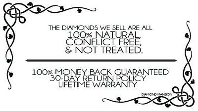 1.50 TCW Natural Cushion Cut Pave Set  Diamond Engagement Ring - GIA Certified 2