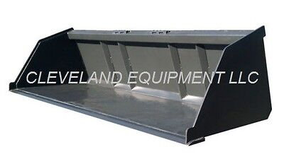 New 72 Bulk Material Bucket Snow Mulch Litter Skid-steer Loader Bobcat Takeuchi