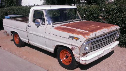 1968 Ford F100 For Sale Craigslist >> 1968 Ford F100 Ebay