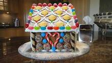 Gingerbread House hand-made for Christmas (edible) Jannali Sutherland Area Preview
