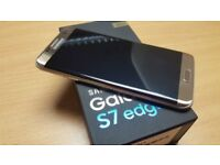 SAMSUNG GALAXY S7 EDGE UNLOCKED BOXED £280 OR NEAREST OFFERS
