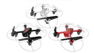 NEW Syma X11 Drone in Ruby RED or Pearl WHITE +FREE BATTERY