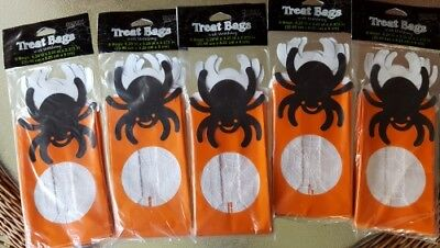 (40 bag Halloween Spider Spiders See thru Treat Favor Gift Bags)