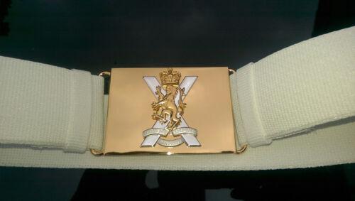 Royal Regiment of Scotland Nylon Parade Belt, Genuine Item