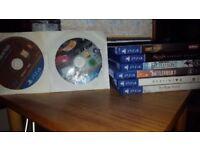 6 PS4 Games Bundle - Batman/Uncharted4/SWBF/Destiny2/7 days to die/The Crew
