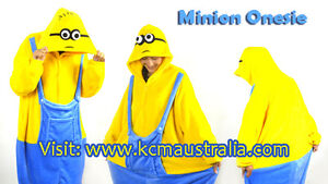 Minion Onesie Despicable Me High Quality Party Costume and Pajama North Melbourne Melbourne City Preview