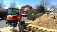 Sewer line and water main replacement