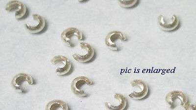 100 Smooth 5mm Crimp Covers to Hide Crimps /& Knots