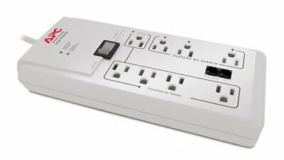 Apc P8gt 8 Outlets 120v Power-saving Homeoffice Surgearrest With Phone Protecti
