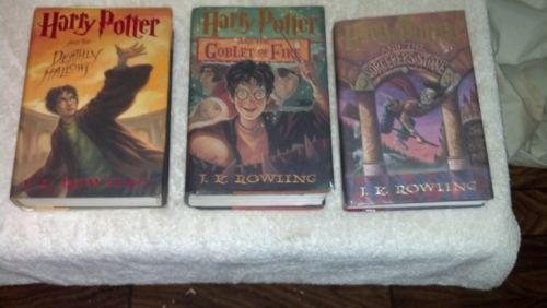 Harry Potter Books Hardcover Ebay