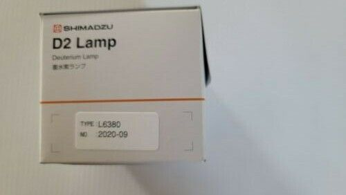 Shimadzu UV spectrophotometer D2 lamp L6380 P/N 062-65055-05