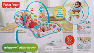 Fisher price rocker infant to toddler.