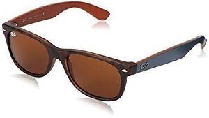 31699f9674dda Ray Ban Rb2132 6179 Wayfarer Matte Havana Frame Brown 55mm Lens Sunglasses.  +.  109.99Brand New. Free Shipping