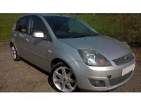 "Fiesta Zetec Diesel 1.4 TDCI ""Rare car with low milage"" MOT until Sept 17 Annual £30 Tax"