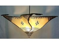 Ceiling Moroccan Henna Lamp Shade
