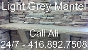 Grey Fireplace Mantel Natural Grey Mantel Stone Mantels