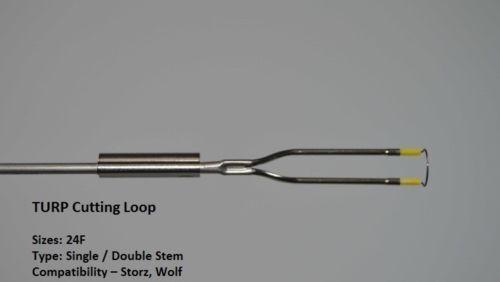 4A STORZ TYPE CUTTING LOOP SINGLE STEM Monopolar PACK OF 9+1 Bipolar (10 Sets)