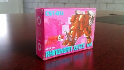 Transformers KFC CST-01J Rhinohorn Masterpiece Cassette Ramhorn  in Stock!