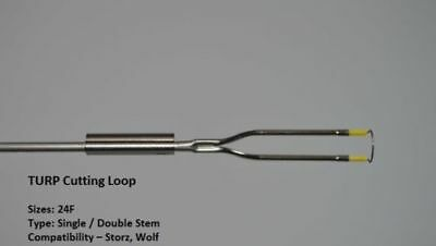 4a Storz Type Cutting Loop Double Stem Monopolar 27ch Urology Turp Pack Of 10