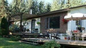 New Price!! Home on 8.74 acres in Vanderhoof Prince George British Columbia image 1