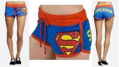 NWT Superman / Supergirl Short Booty Shorts - DC Comics Man of Steel Pajamas XL